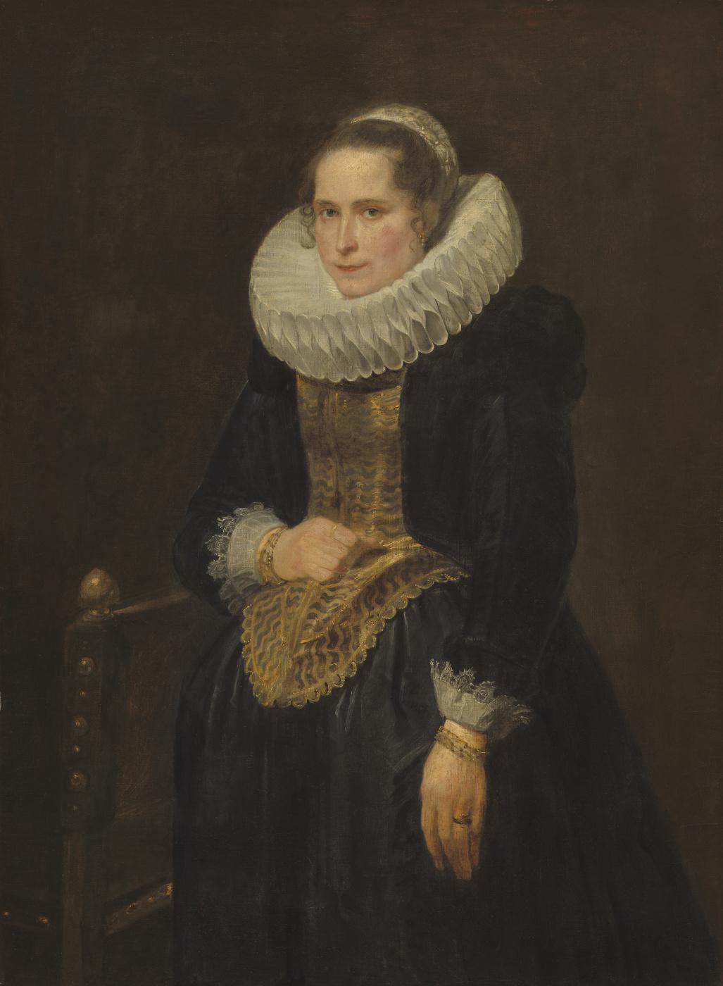Anthony van Dyck. Portrait of flamandski