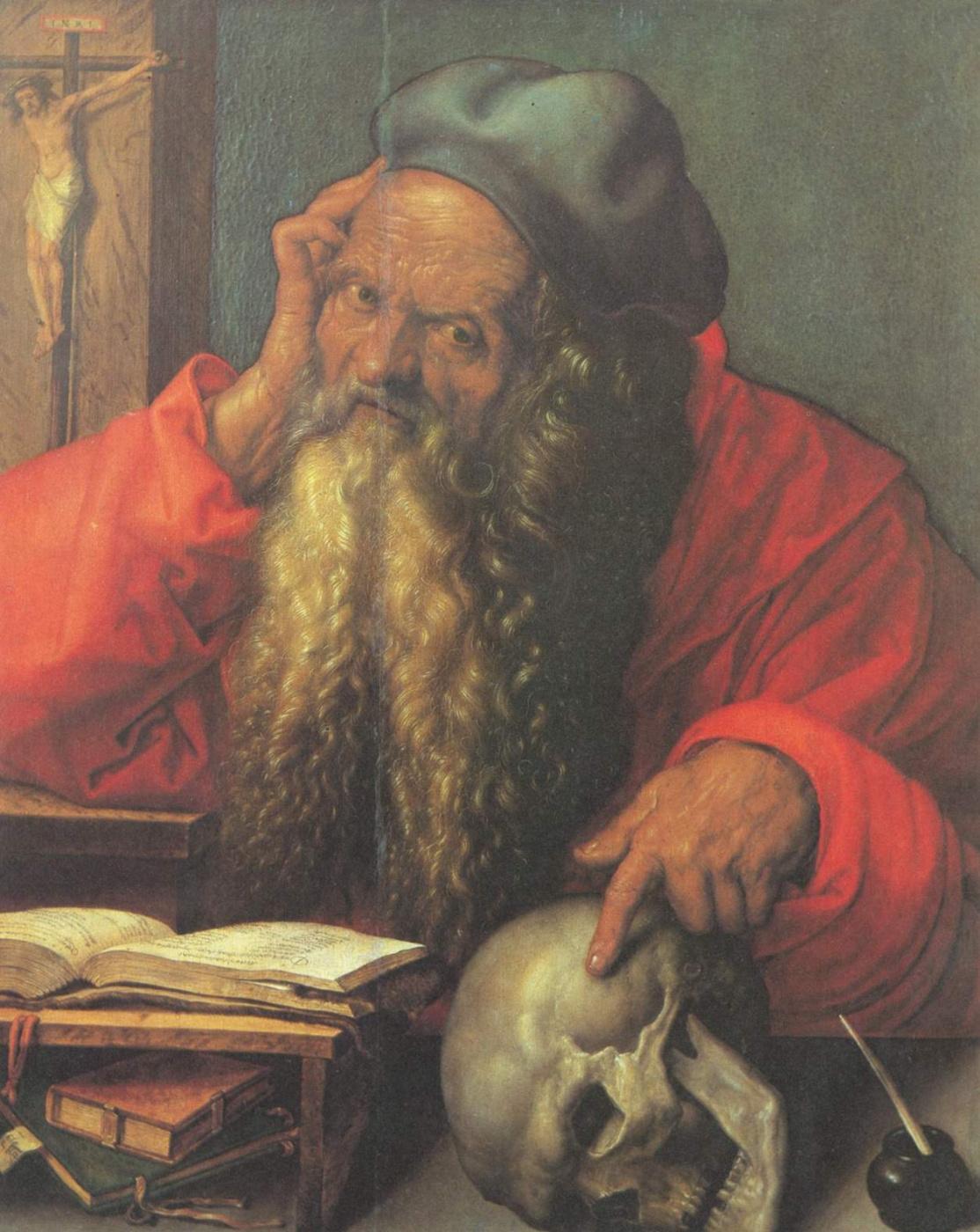 Albrecht Dürer. Saint Jerome