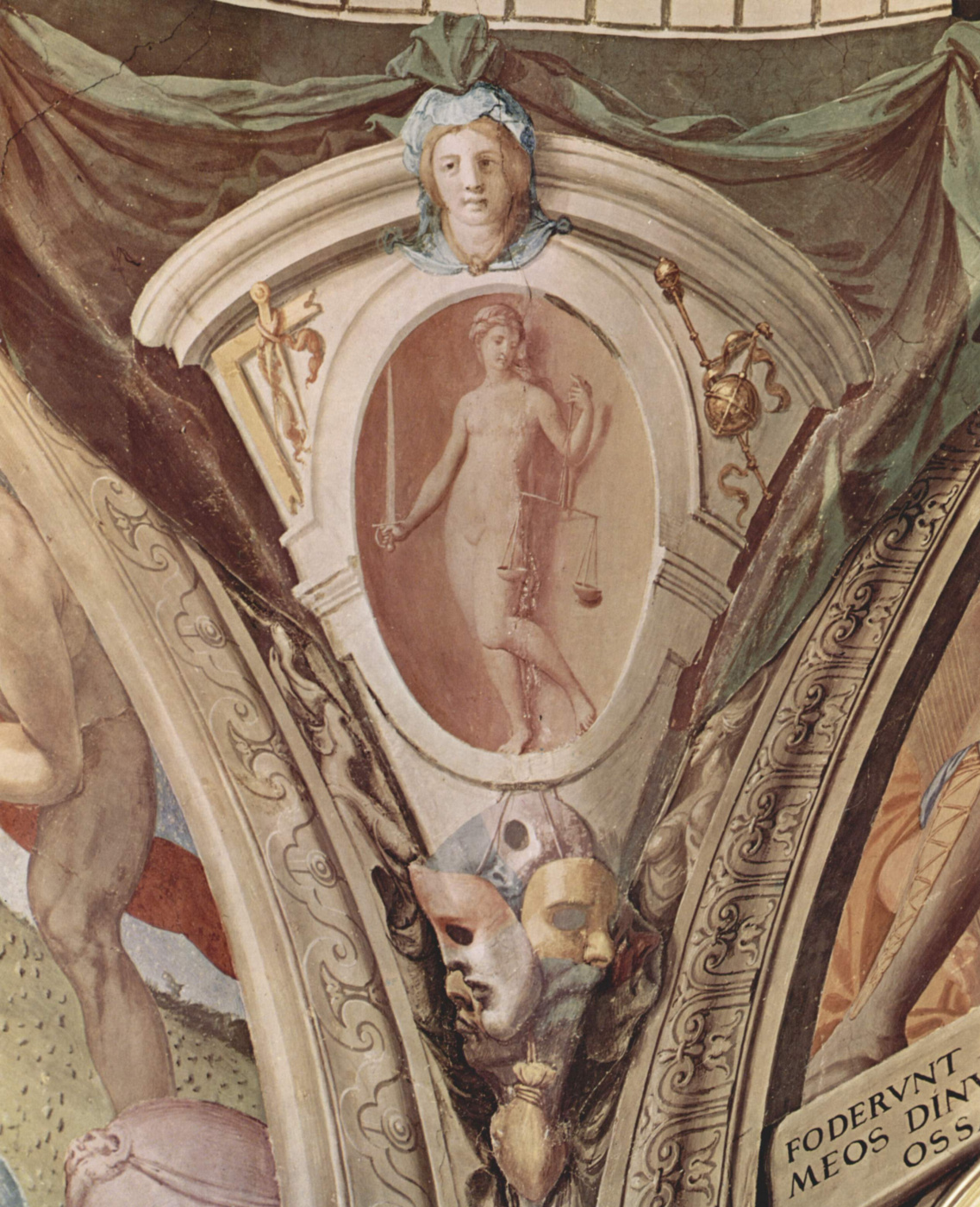 Agnolo Bronzino. Fresco of the Chapel of Eleonora of Toledo at the Palazzo Vecchio