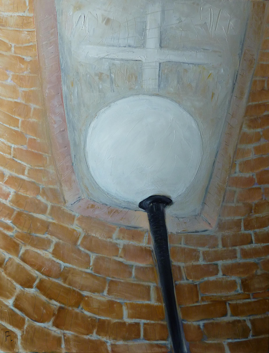 Svyatoslav Ryabkin. White lantern White lantern