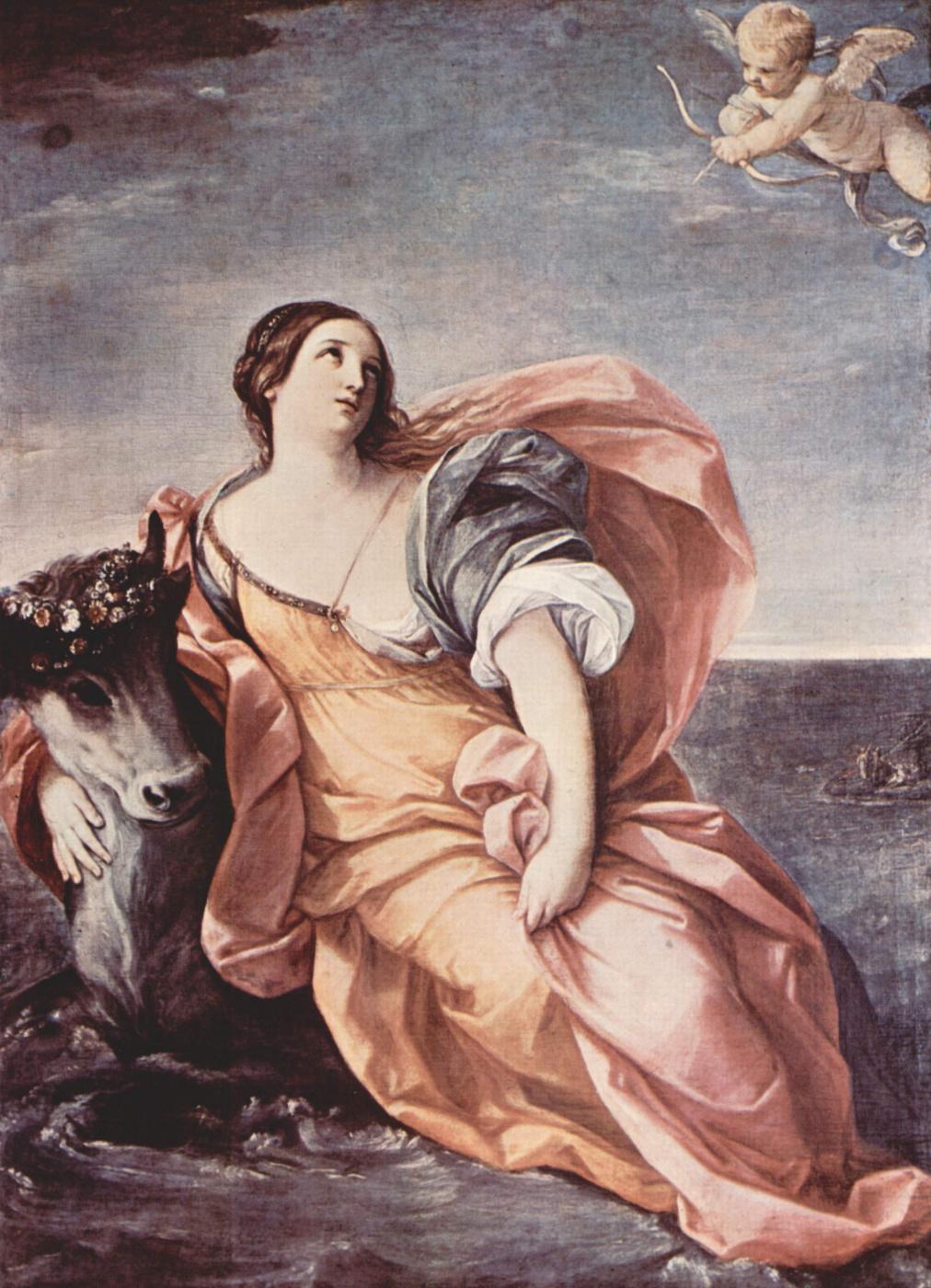 Guido Reni. The Rape Of Europa