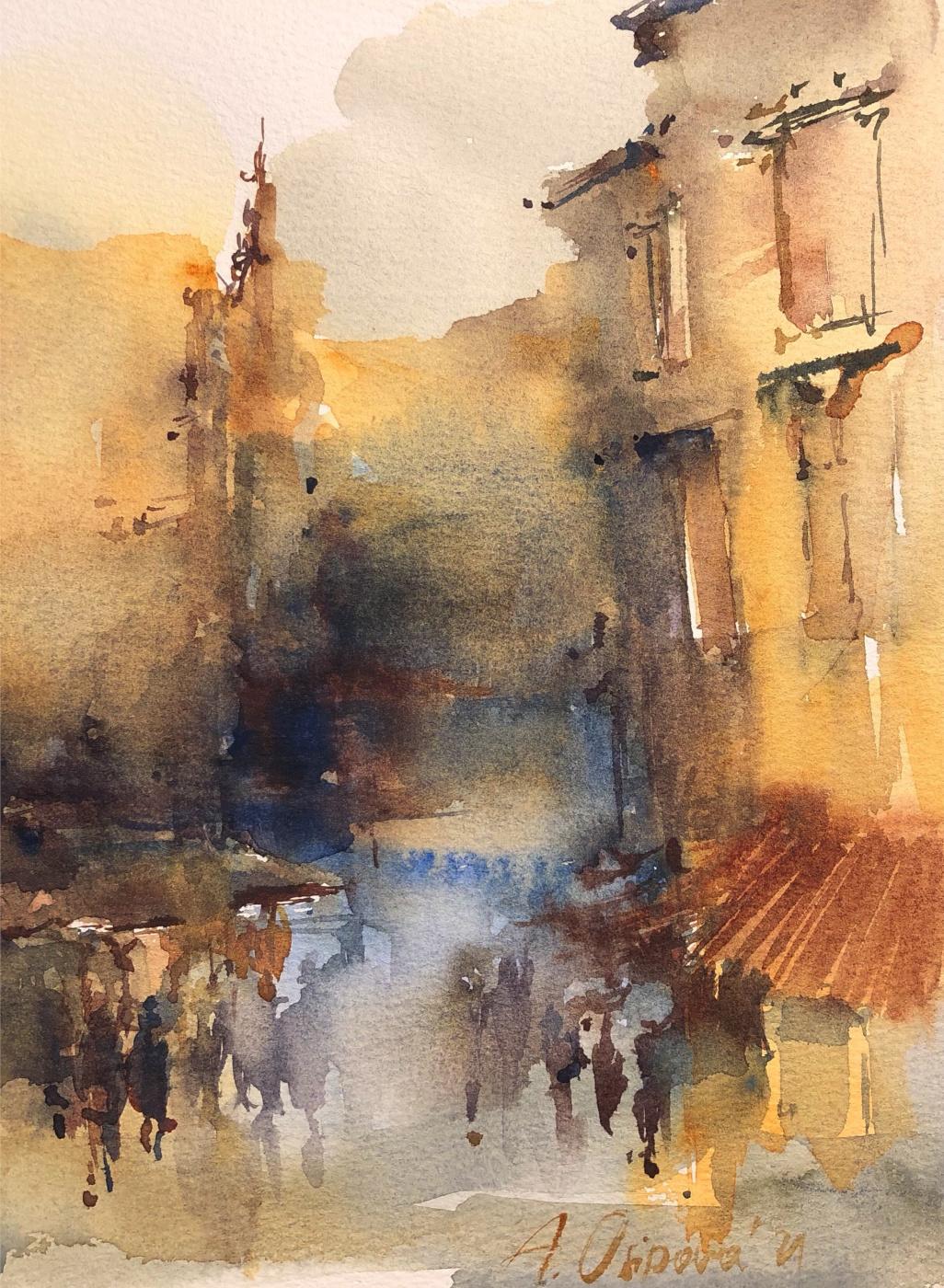 Angelica Osipova. Городские зарисовки