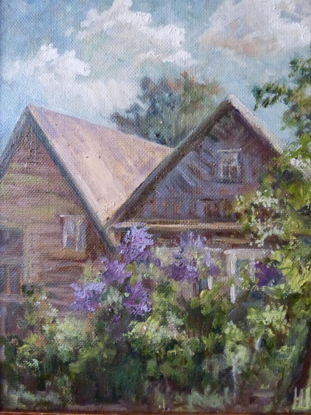 Надежда Георгиевна Шацкая. Соседская сирень