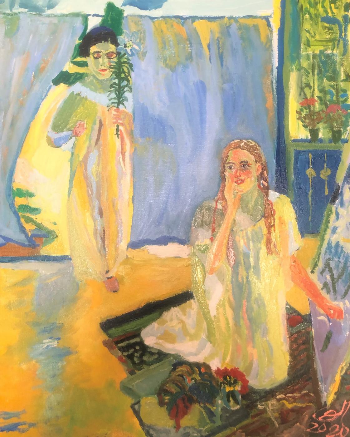 Sergey Vladimirovich Sebini. Variation on the theme of Murashko's Annunciation