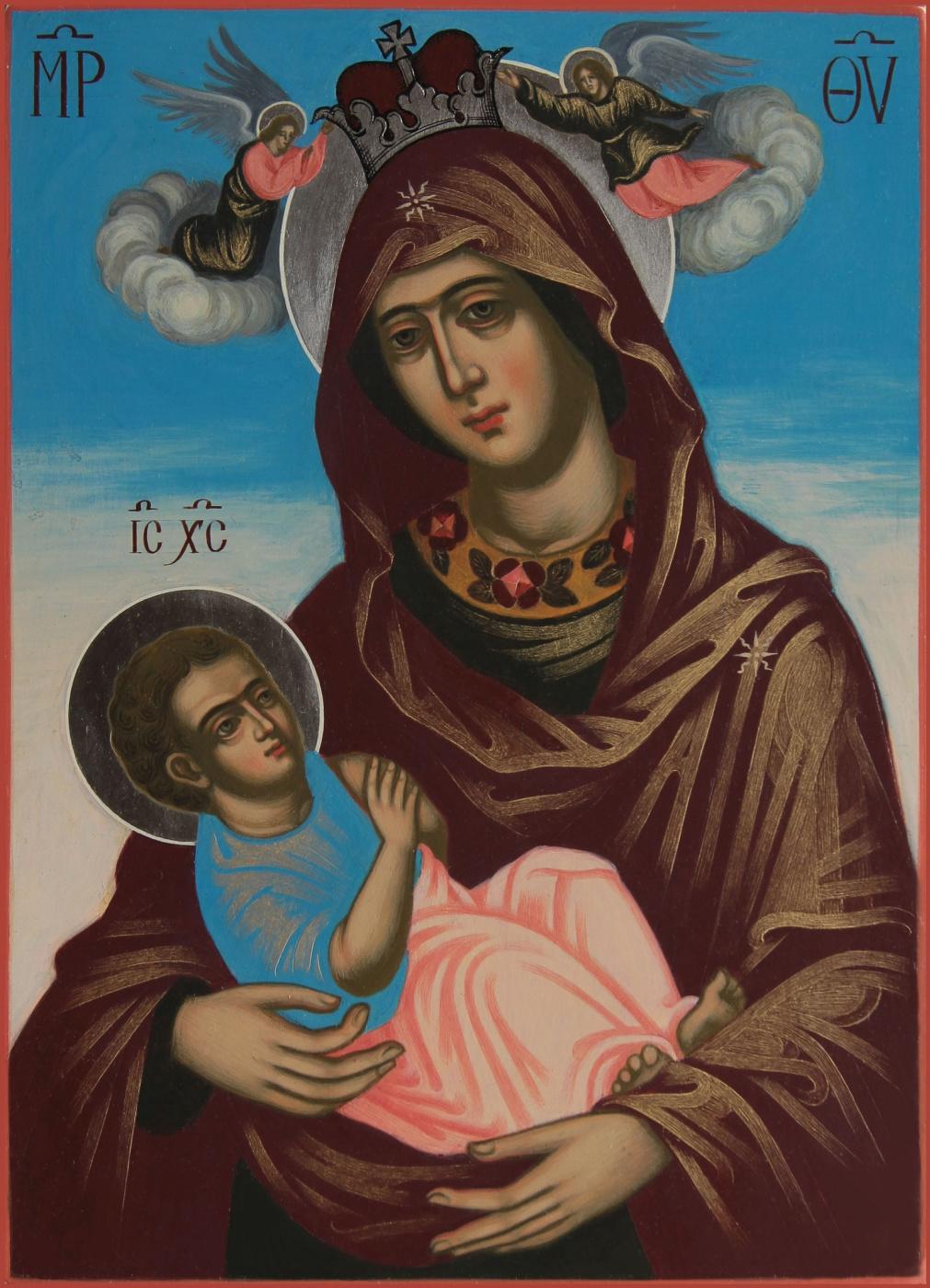 "Ivana Nenadich. Icon of the Mother of God ""Mammal"""