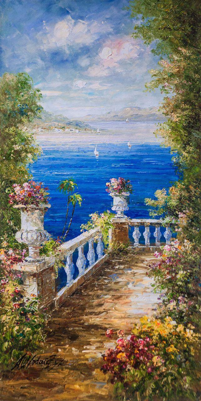 Andrzej Vlodarczyk. Sea view from balcony N5