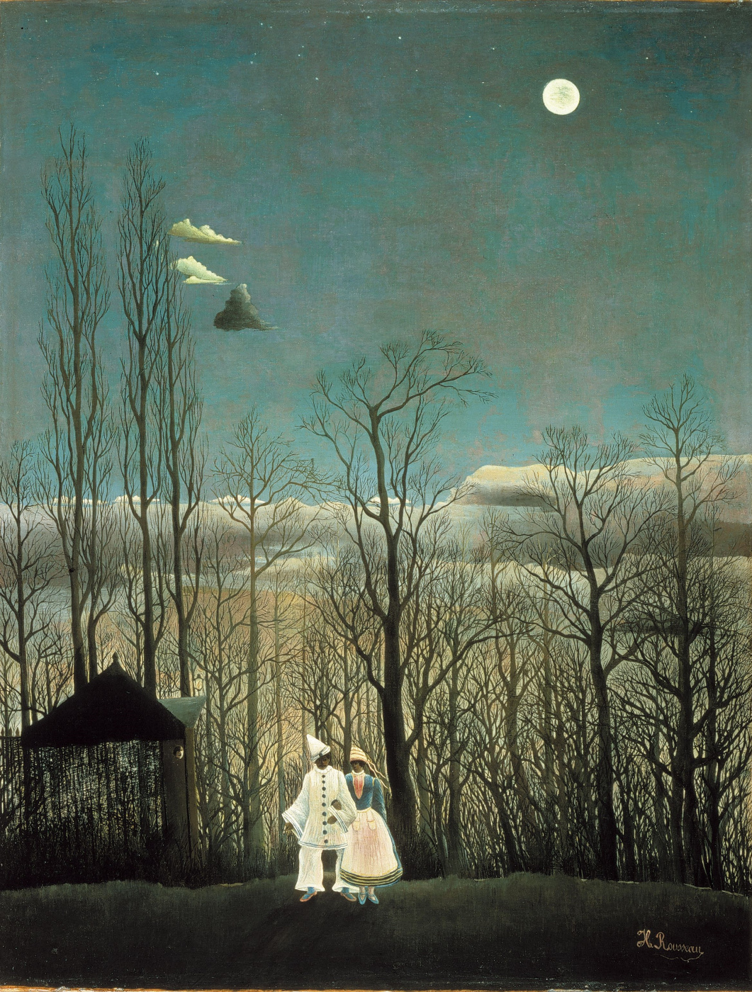 Henri Rousseau. Carnival evening