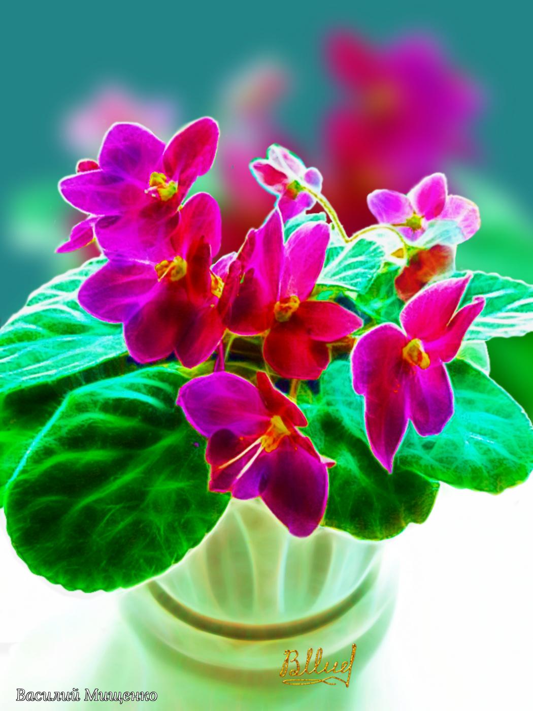 Vasiliy Mishchenko. Flowers 045
