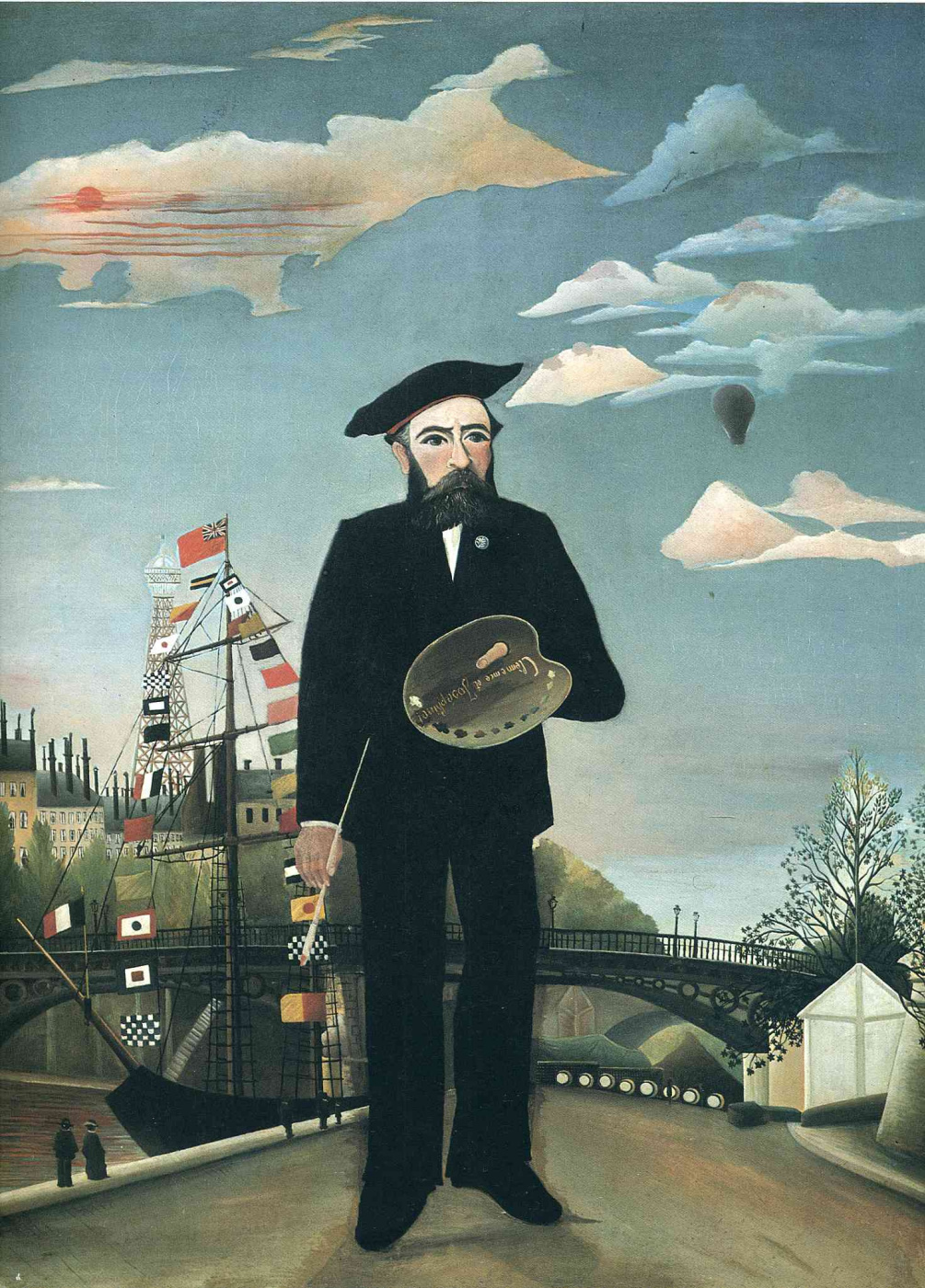 Henri Rousseau. Self-portrait