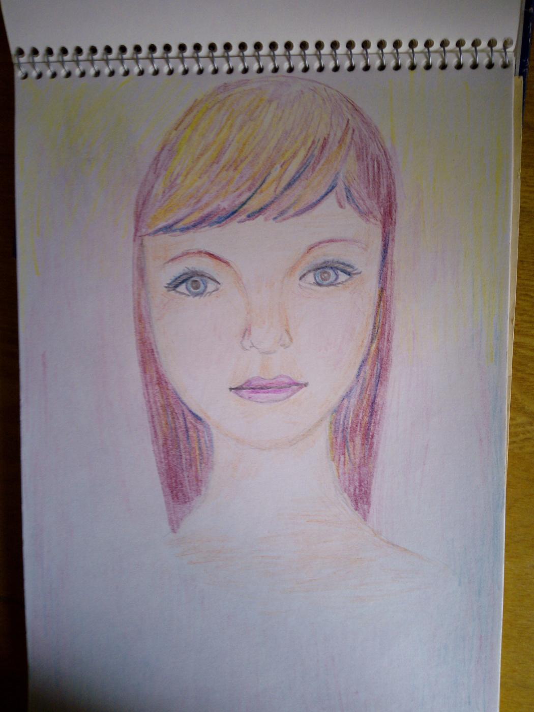 Natalia Anatolyevna Leisure. Portrait.