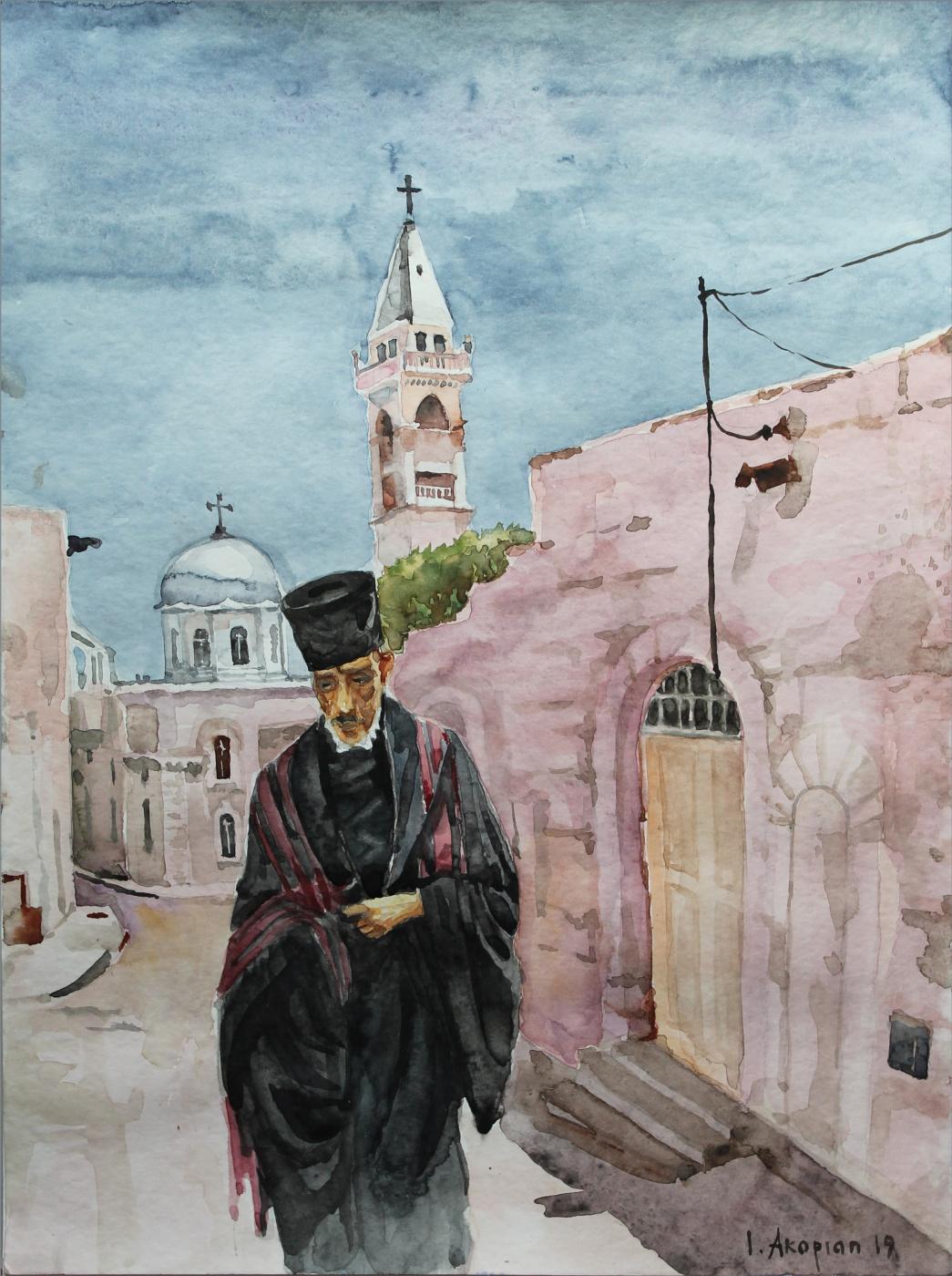 Ivan Mykrtychevich Hakobyan. Copt in Benjala