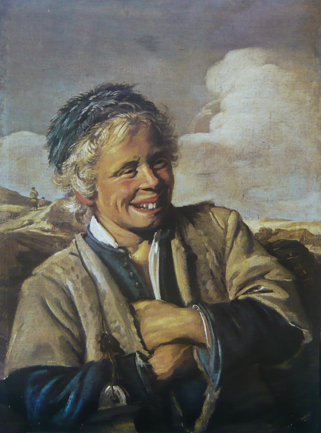 Frans Hals. Laughing Fisherboy