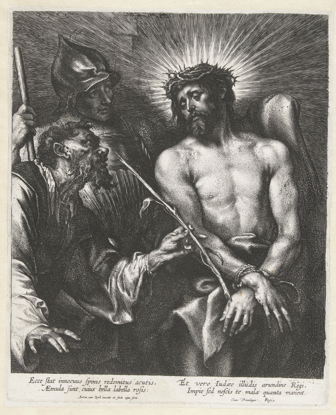 Anthony van Dyck. The Humiliation Of Christ