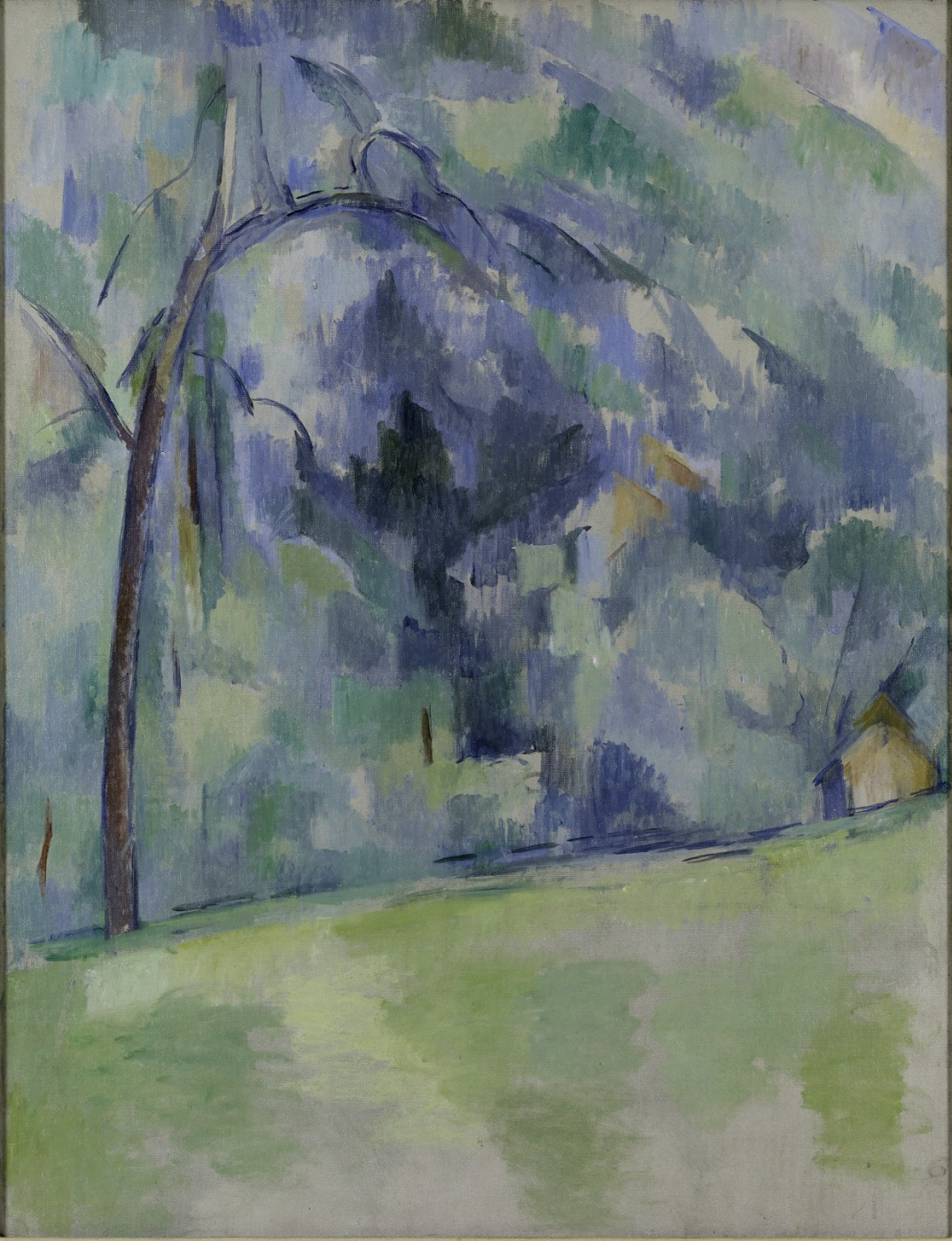 Paul Cezanne. Morning in Provence