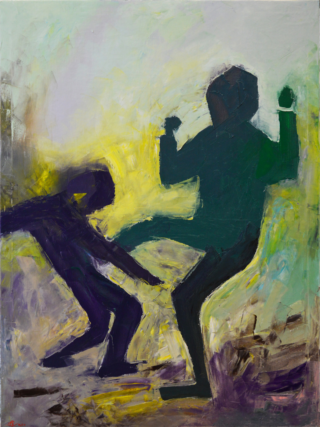 Vadim Anatolyevich Stolyarov. A fight with a shadow