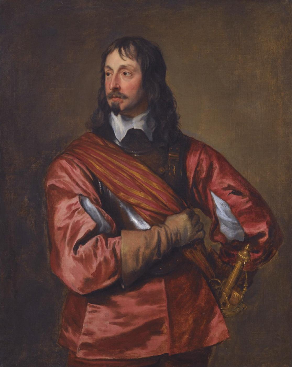 Anthony van Dyck. Vice-Admiral sir John Mennes