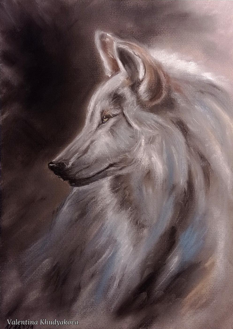 Valentina Khudyakova. She-wolf