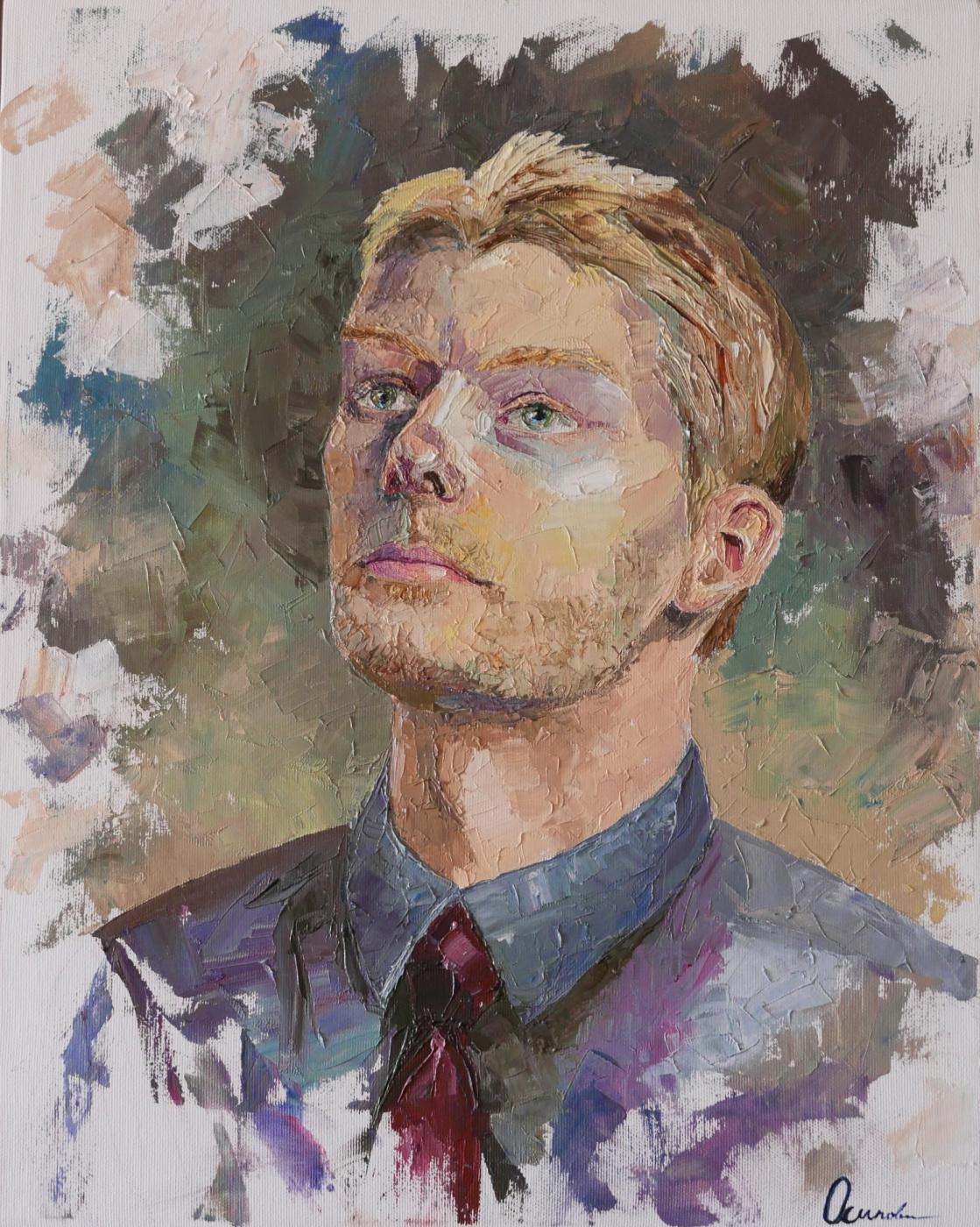 Ekaterina Viktorovna Mitrofanova. Portrait of Sergey Solovyov