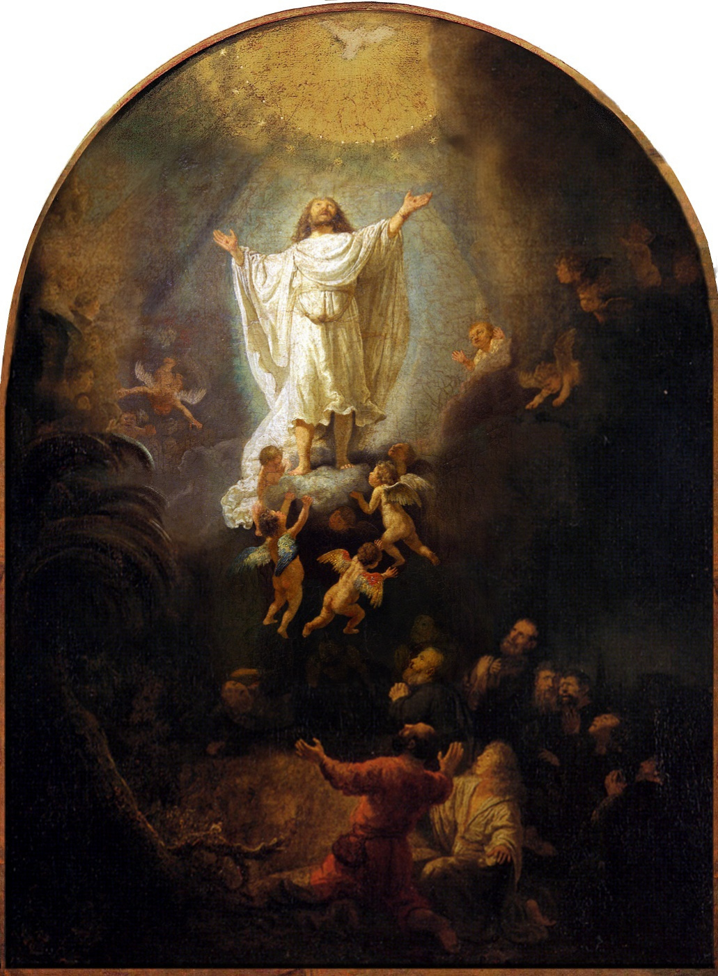 Rembrandt Harmenszoon van Rijn. The Ascension Of Christ