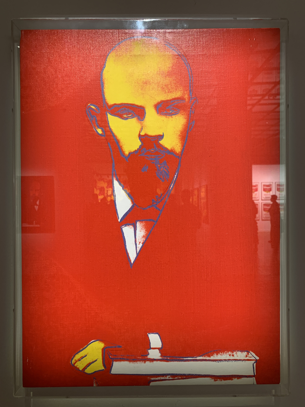 Andy Warho. Red Lenin