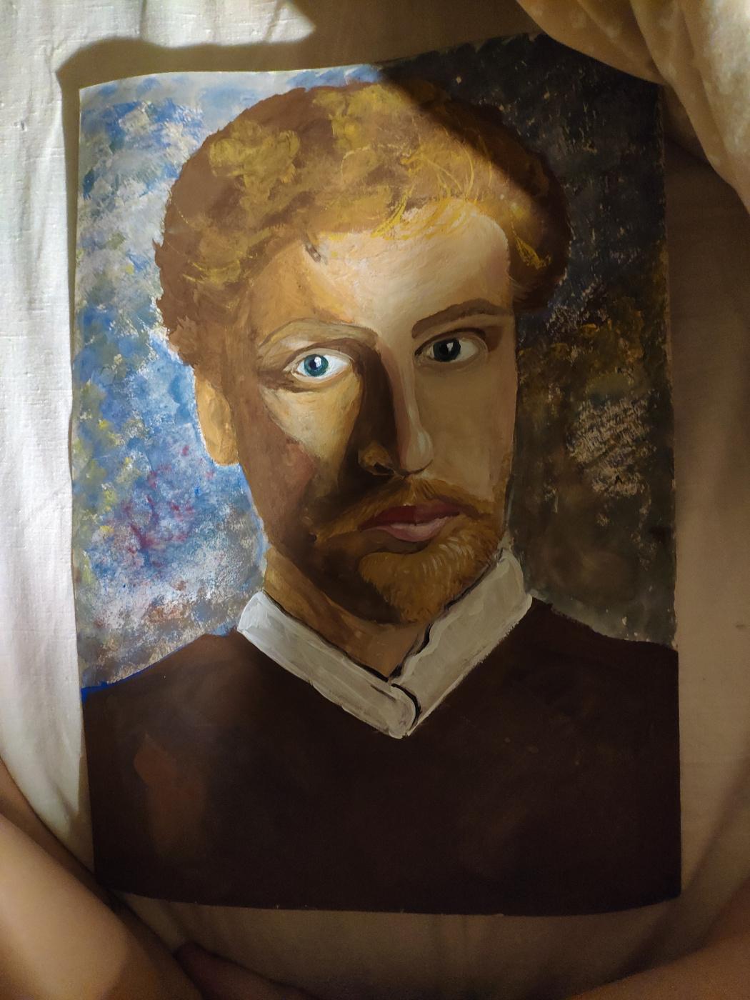 Nastya Seliverstova. Portrait of Serov