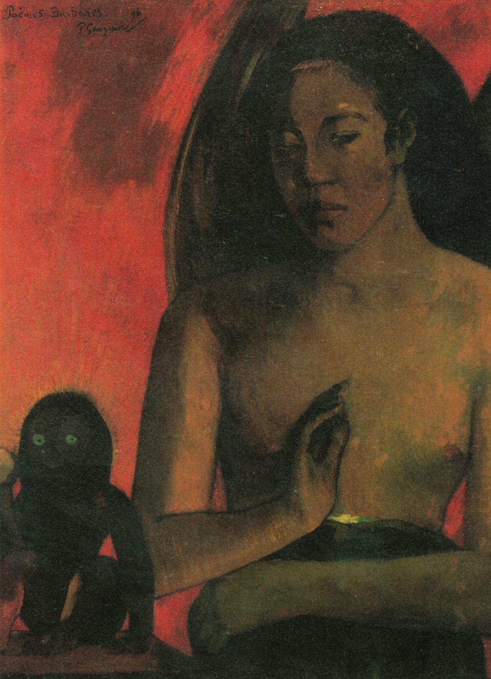 Paul Gauguin. Barbarian poems