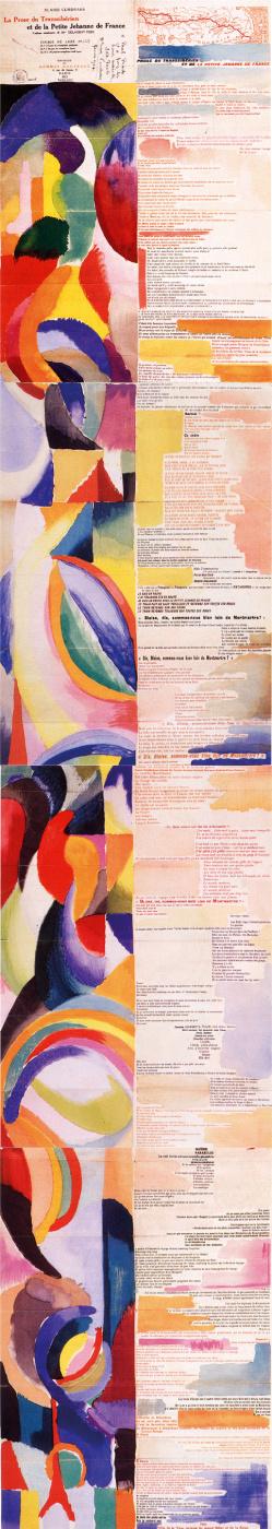 Соня Делоне. Книга «Проза о транссибирском экспрессе и маленькой Жанне Французской»