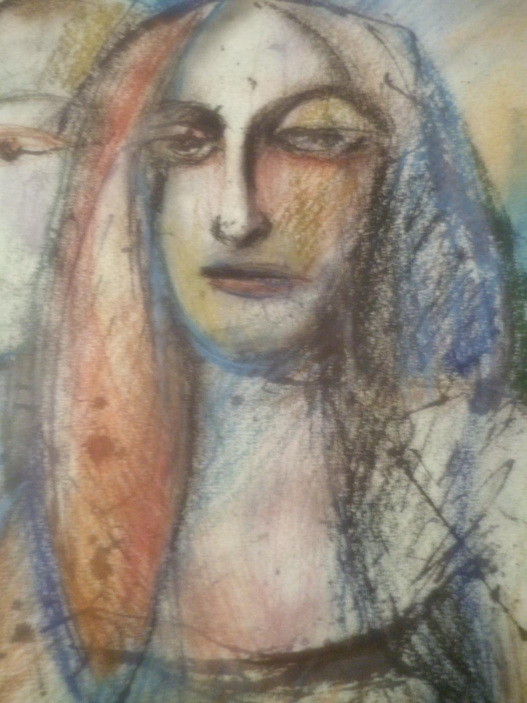 Nino Archilovna Givishvili. Portrait.
