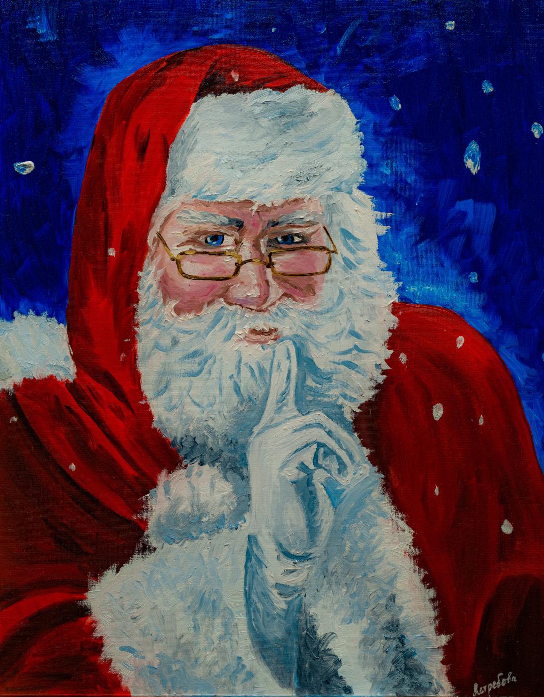 Arina Yuryevna Yastrebova. Santa Claus