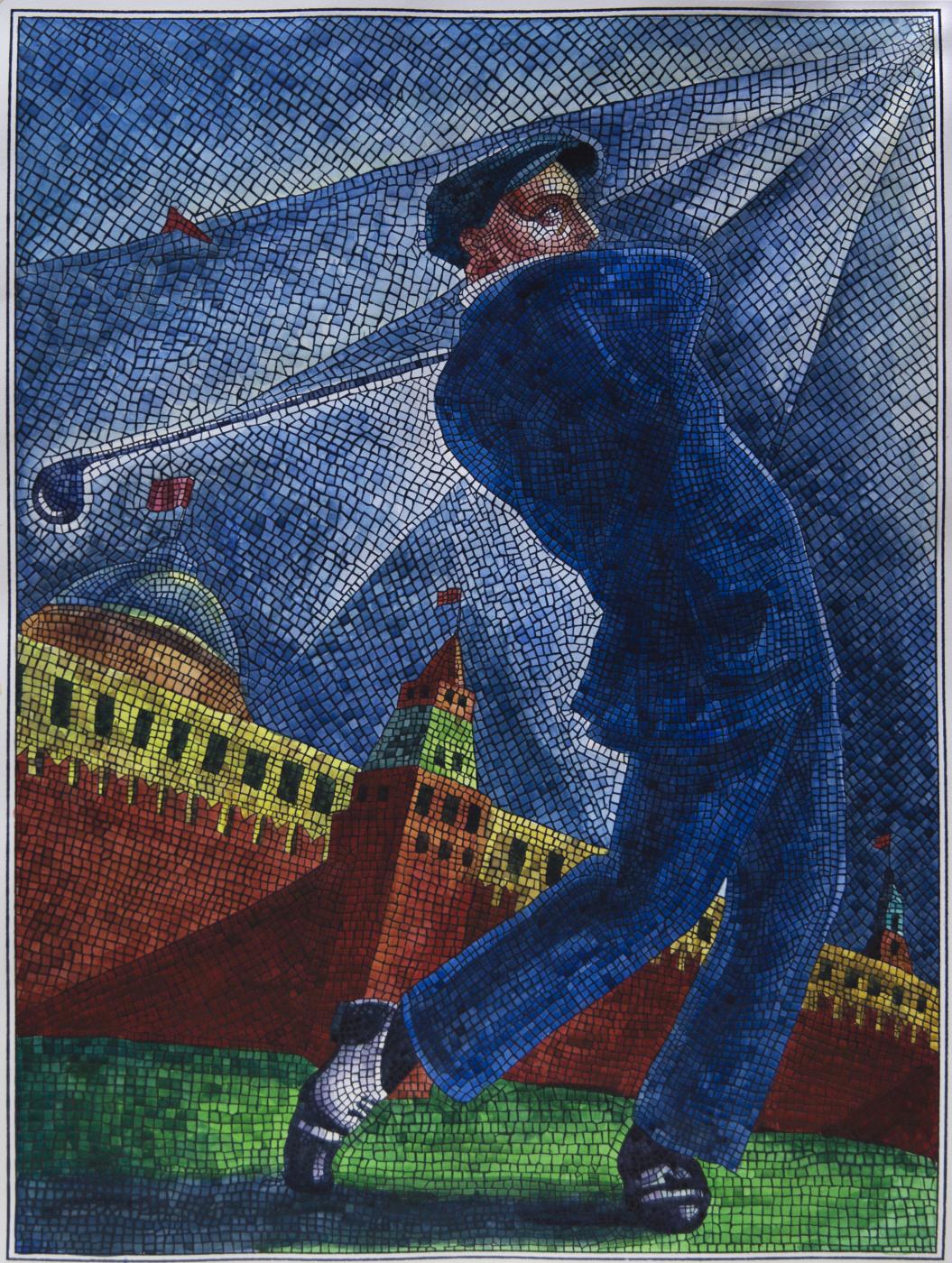 Анатолий Николаевич Ганкевич. Mayakovsky Golf