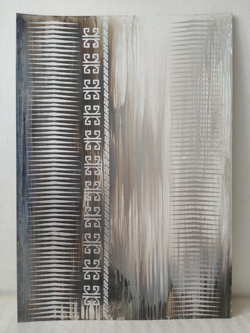Gulzhanat Temirkhan. Abstraction 24