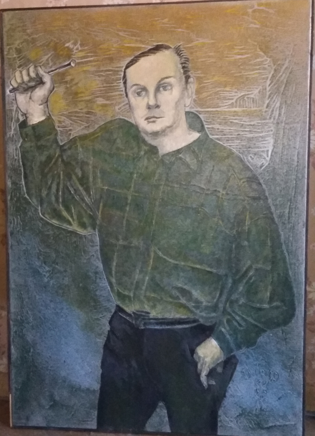 Nikolay Zverev. Cat