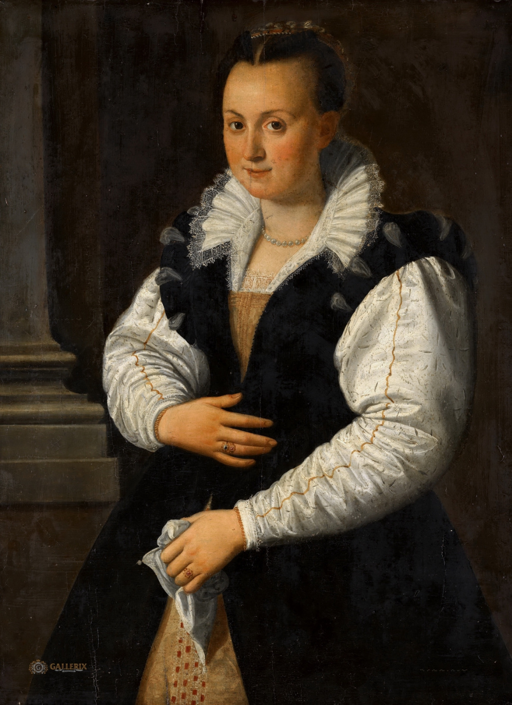 Alessandro Allori. Female portrait. 1585-1600