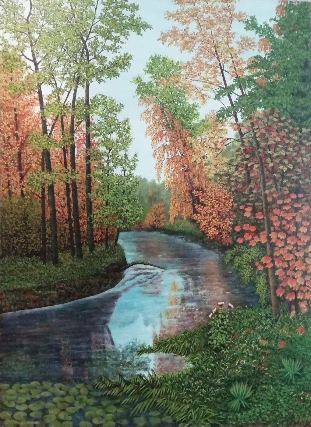 Korobkin. Golden autumn
