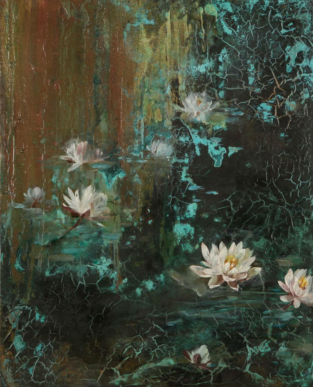Eugene Lampitskaya. Lampa. Water lilies