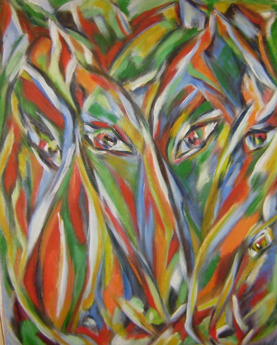 Lyudmila Anatolyevna Afanasyeva. Horses