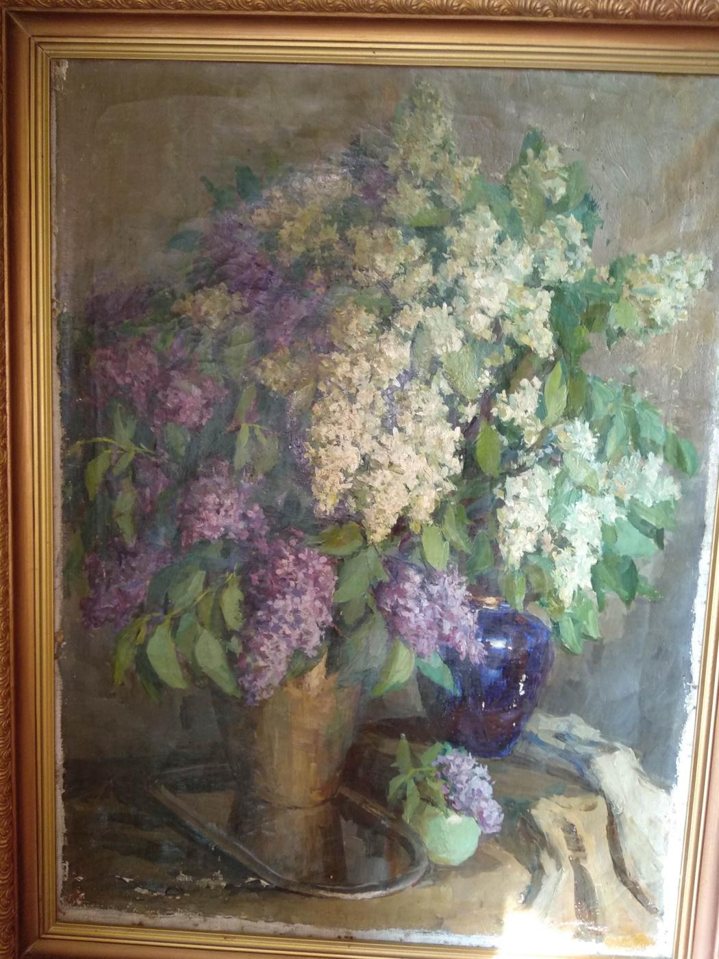 Vladimir Mikhailovich Ekhanin. Lilac