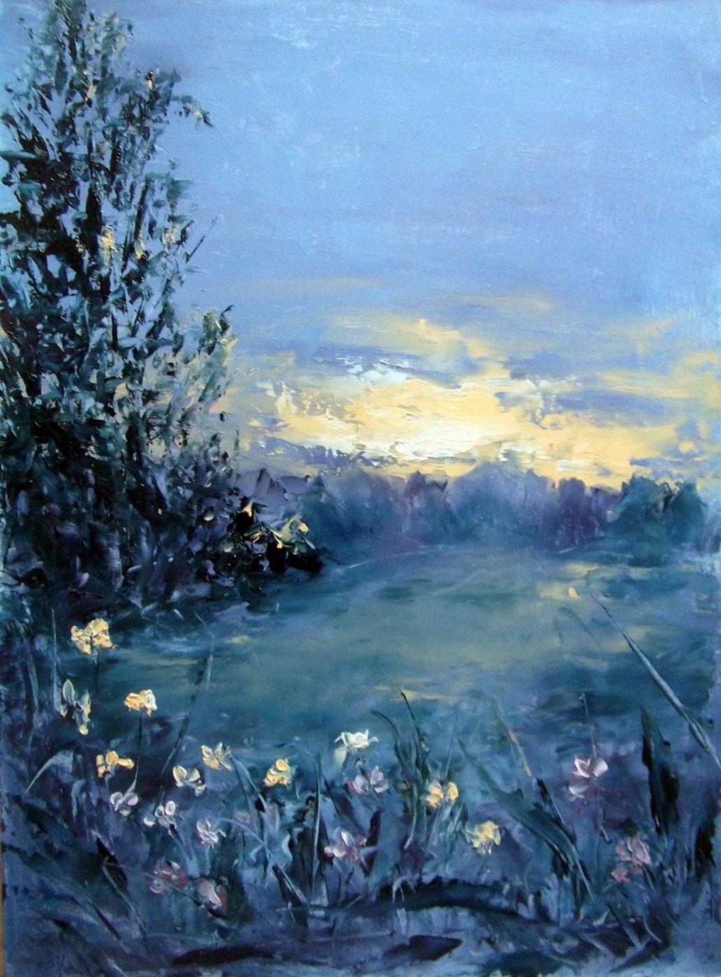 Elena Viktorovna Yudina. The warmth of the sun