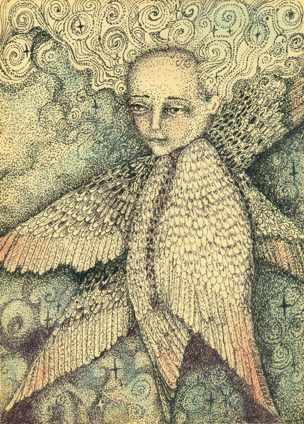Olyona Ivanovna Koneva. Angel. Space