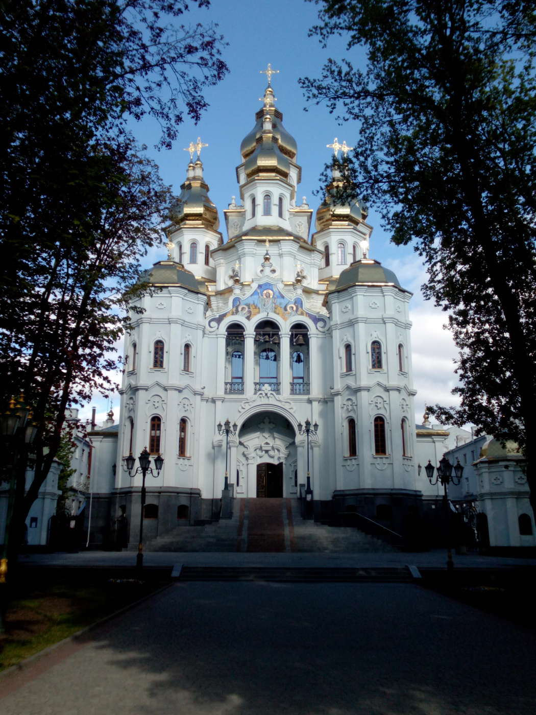 "Alexey Grishankov (Alegri). ""Cathedral at dusk"""