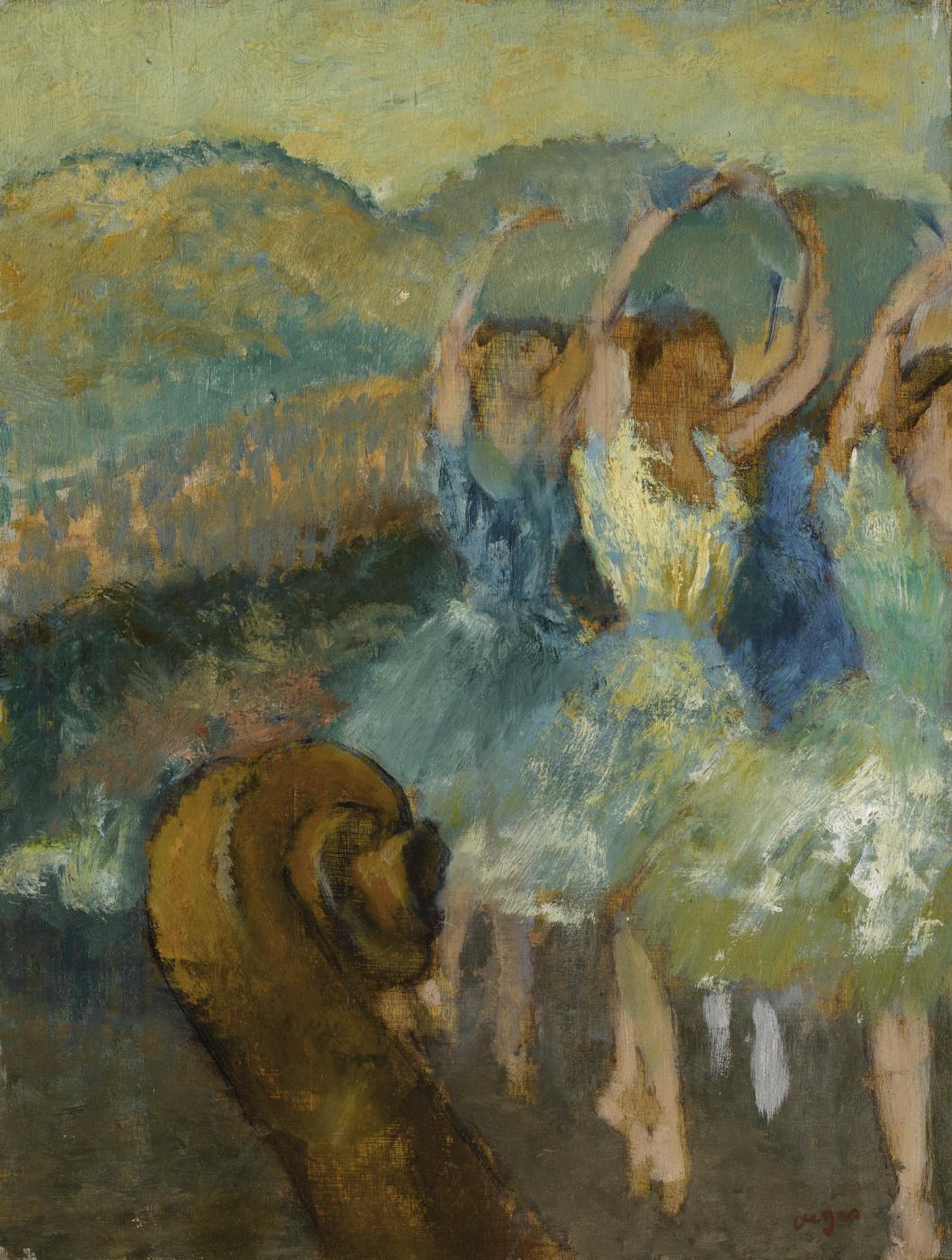 Edgar Degas. Ballet