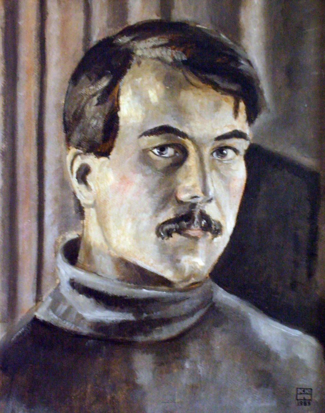 Yuri Petrovich Konnov. Self-portrait
