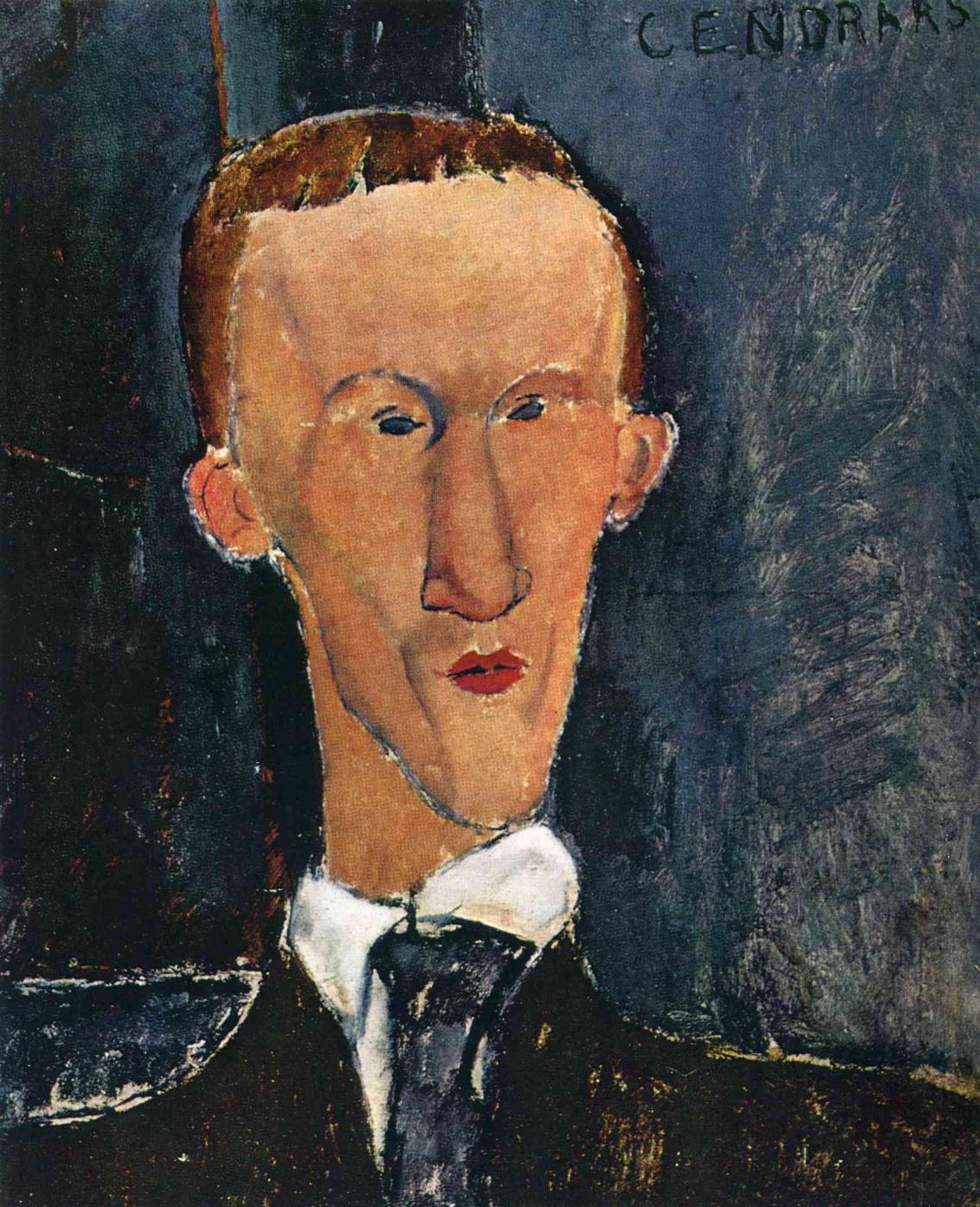 Amedeo Modigliani. Portrait Sankara Blaise