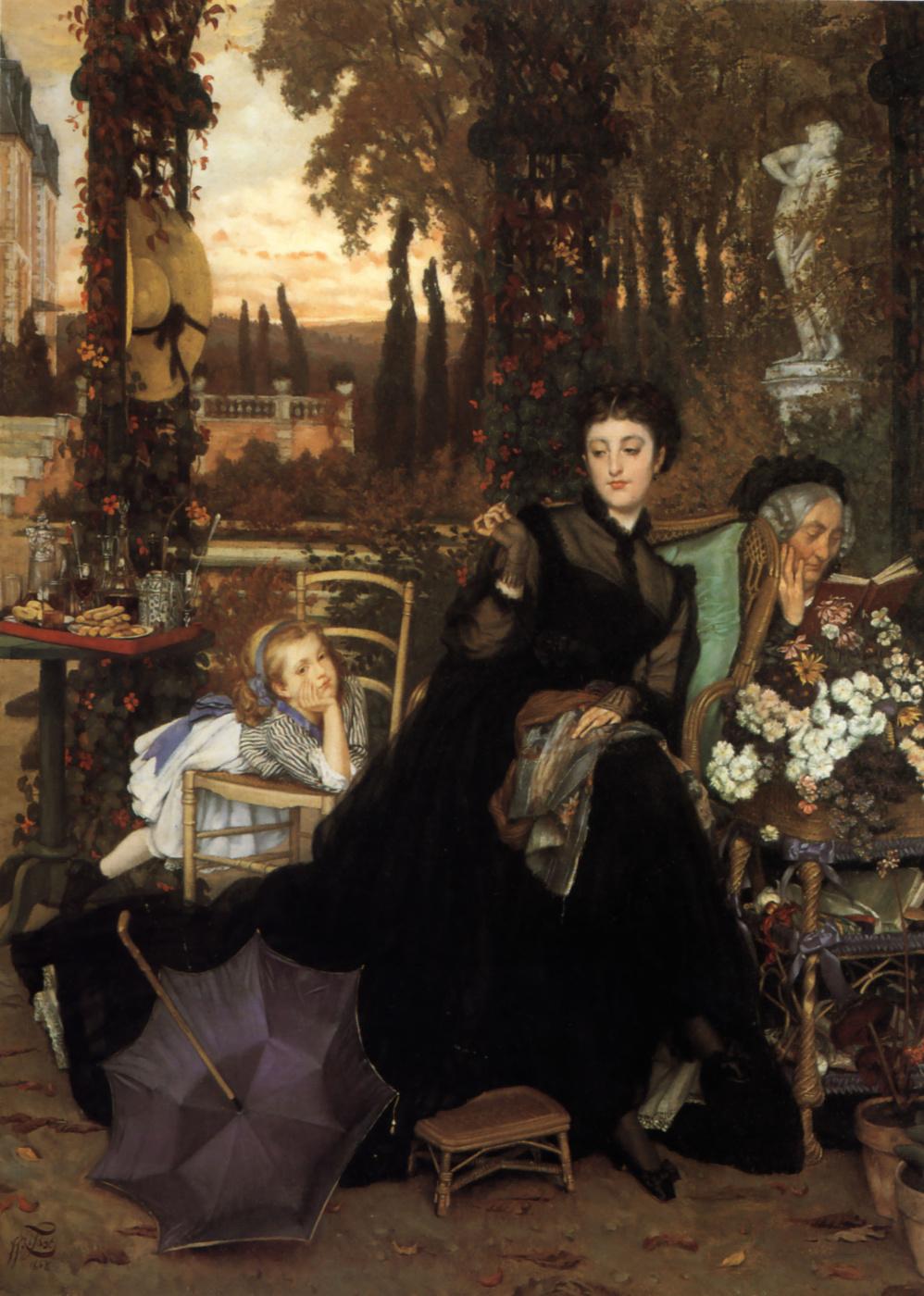 James Tissot. Widow