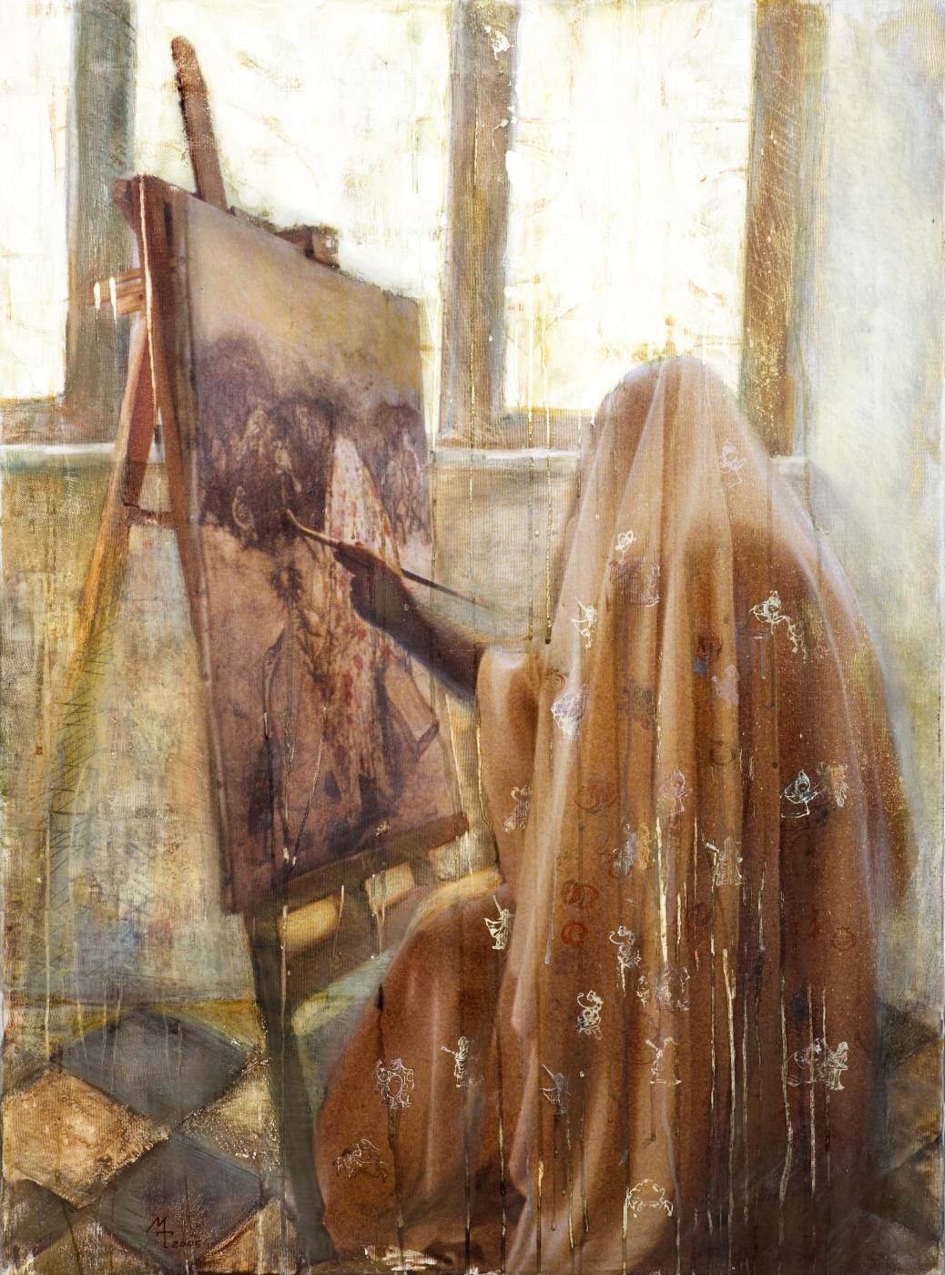Margarita Tatieva. Painter