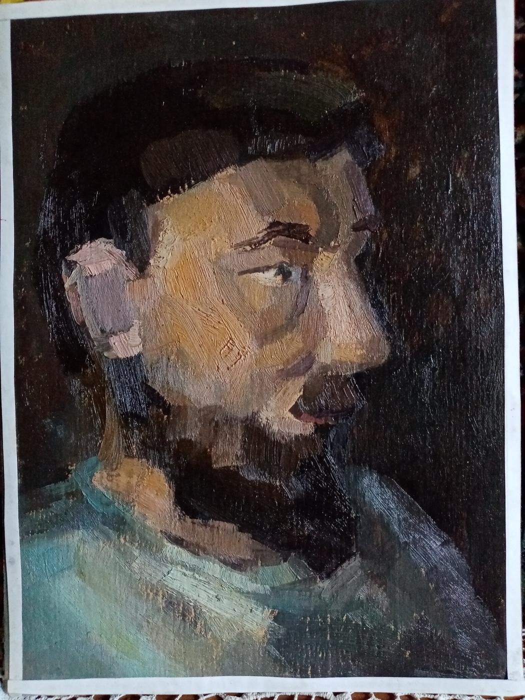 Alexey Olegovich Artamonov. Self-portrait