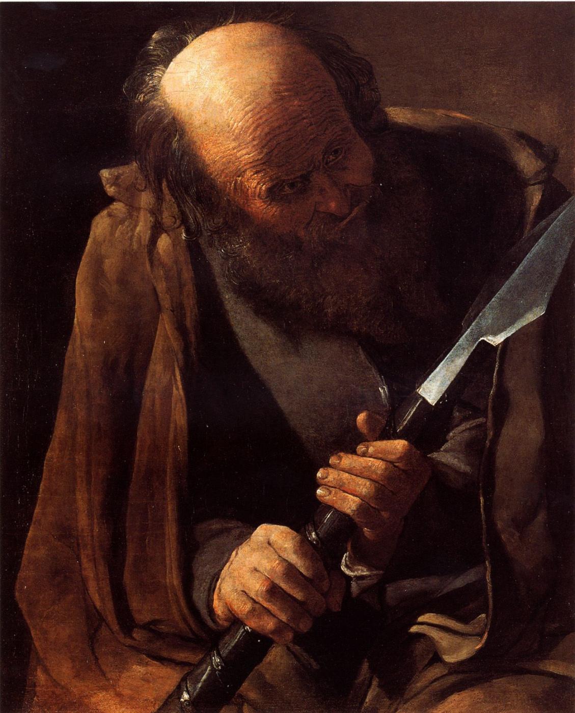 Georges de La Tour. St. Thomas