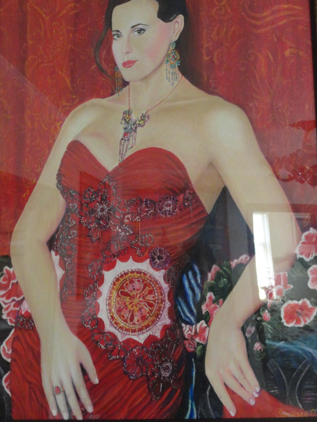 Sergey Nikolaevich Zinoviev. The lady in the red dress!