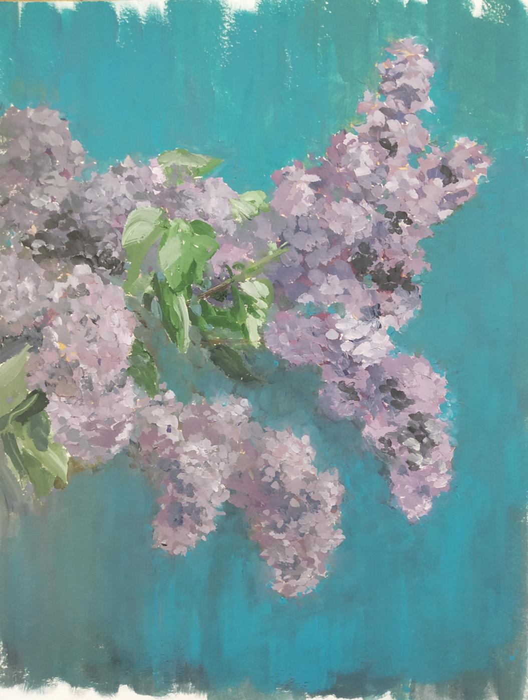Alexandra Sergeevna Fedulova. Lilac - 2
