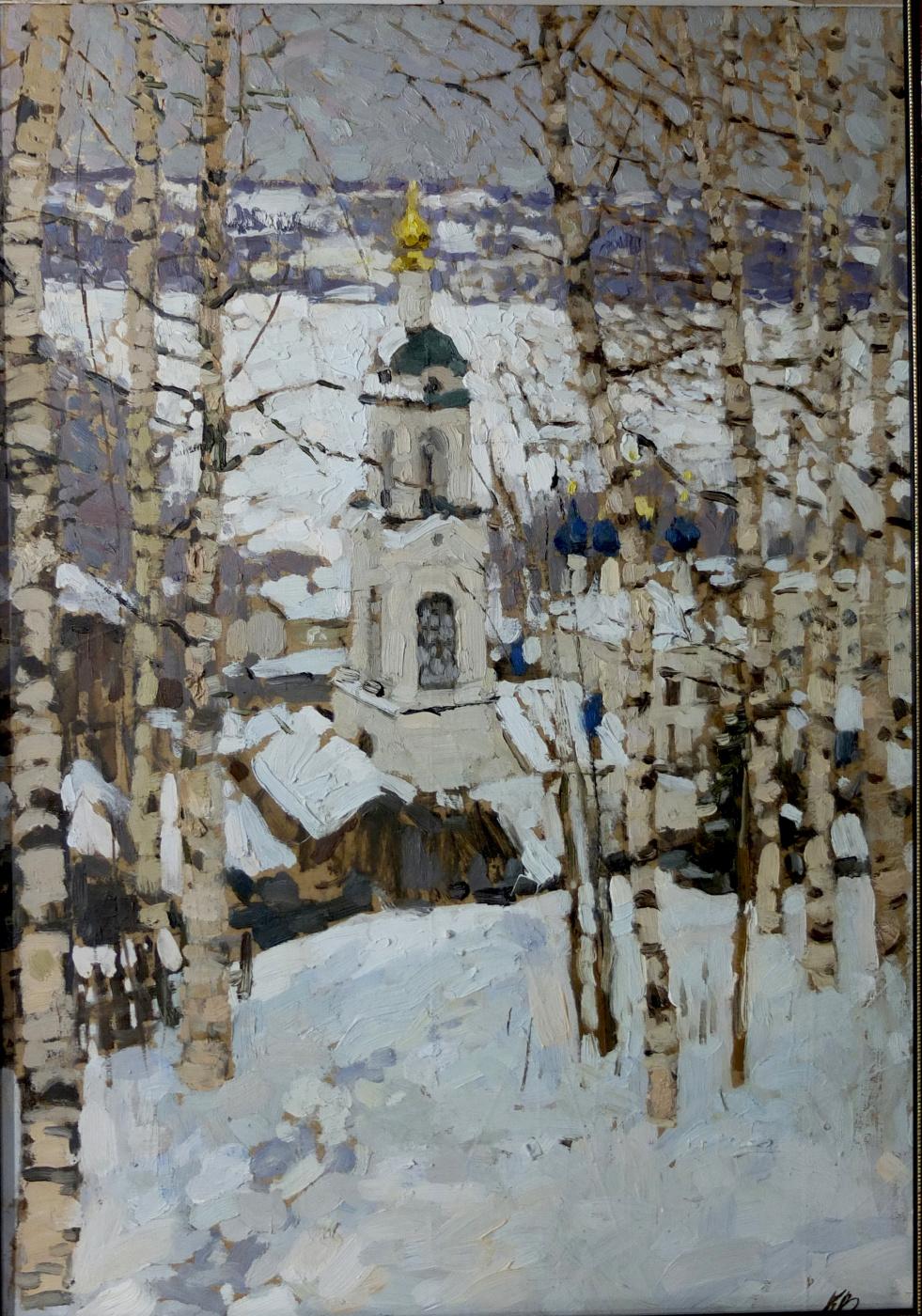 Василий Васильевич Куракса. Winter in Ples